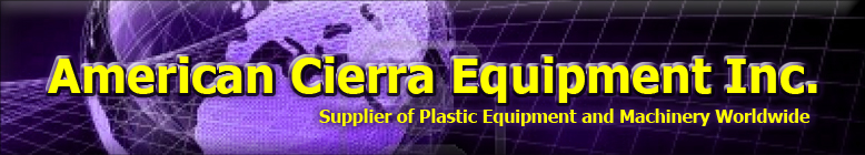American Cierra Equipment Plastic Lumber, Recycling Equipment,Used Plastic Wood Machinery